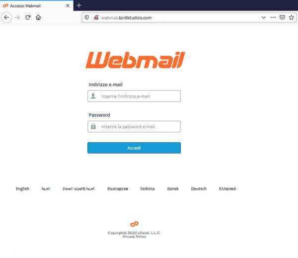 Come visualizzare la propria casella email da casa