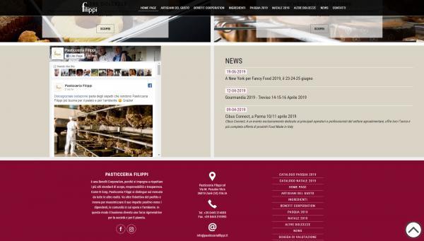 Integrazione completa tra sito e social